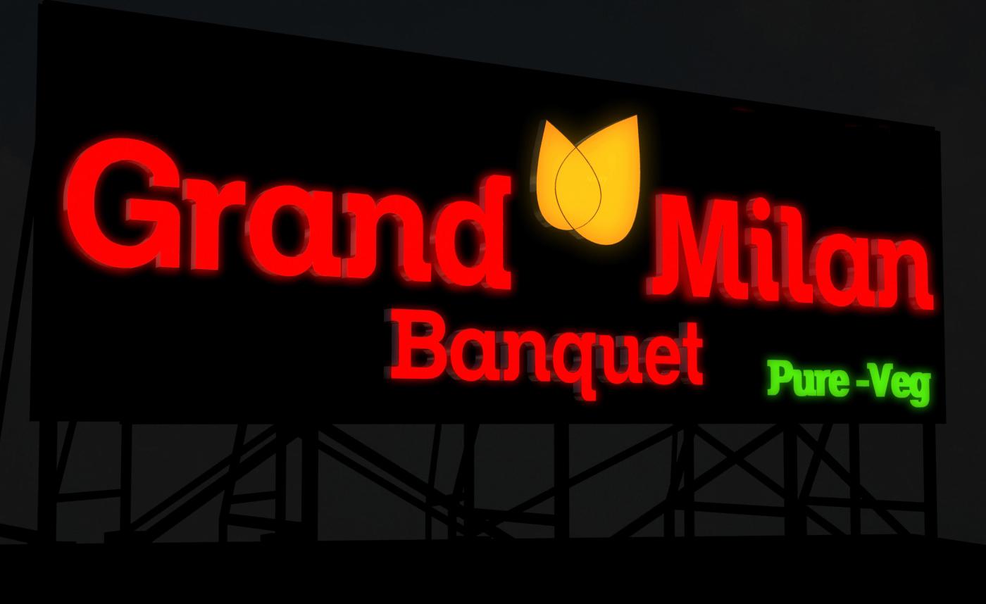 Grand Milan Signage